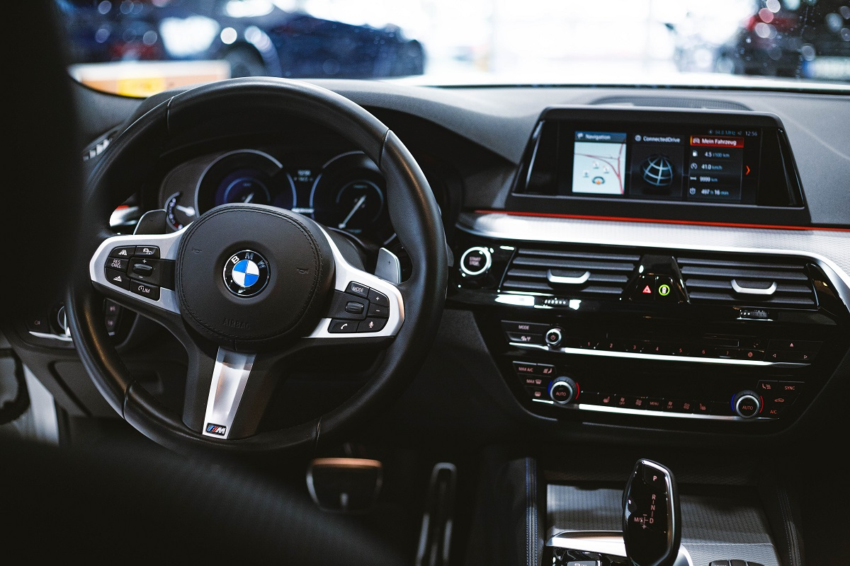BMW 530e Interieur