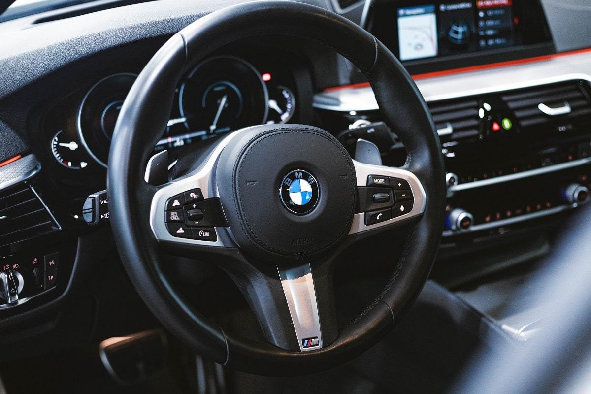BMW 530e Lenkrad