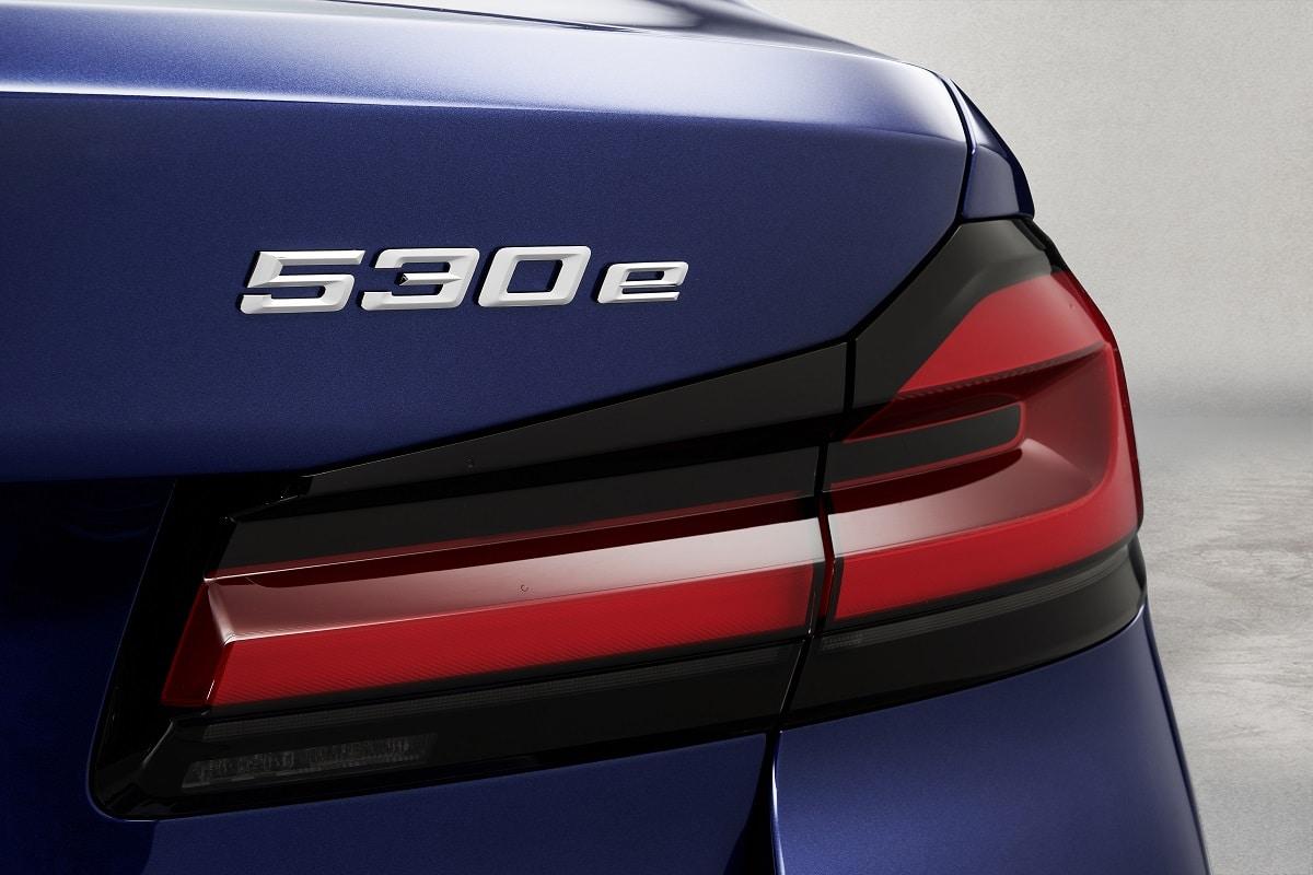 BMW 530e Limousine Modellschriftzug