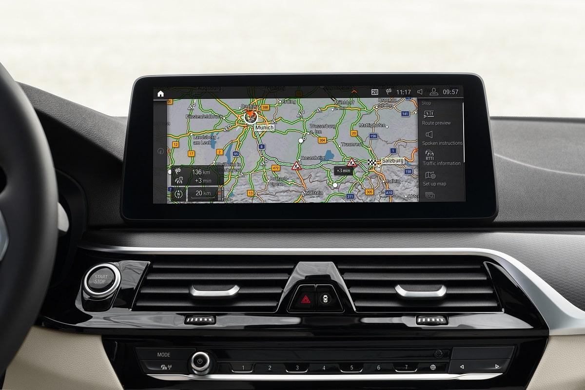 BMW 530e Limousine Navigation