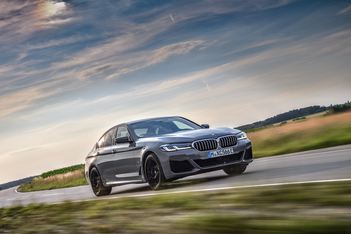 BMW 545e Limousine Plug In Hybrid