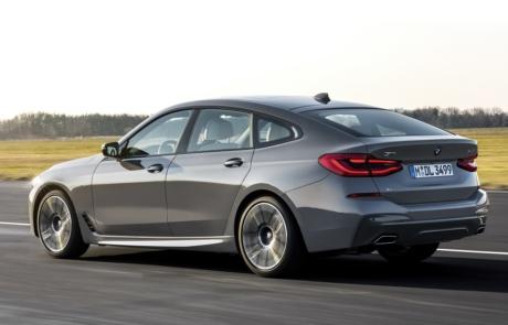 Seitenansicht des BMW 6er Gran Turismo