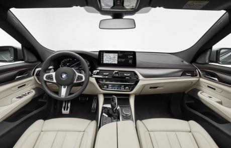 Cockpit des BMW 6er Gran Turismo