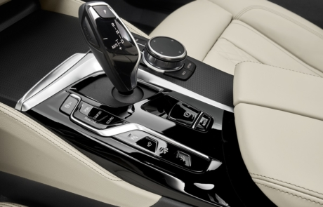 Interior-Details des BMW 6er Gran Turismo