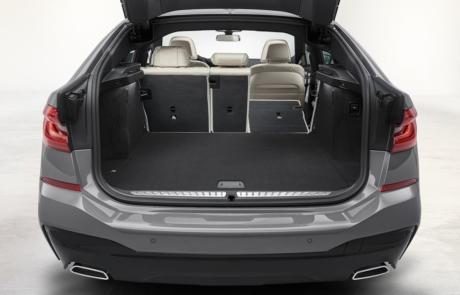 Kofferraum des BMW 6er Gran Turismo