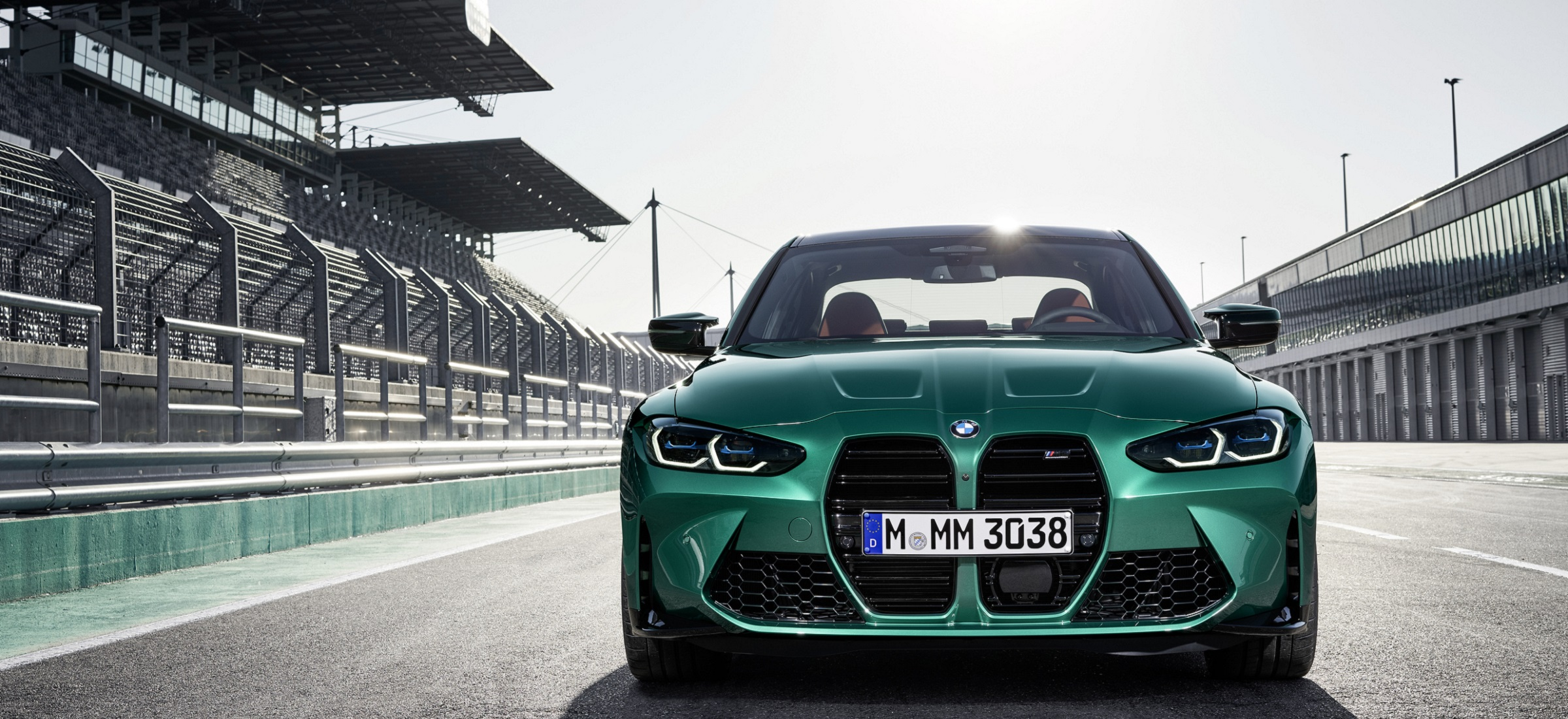BMW M3 Competition Frontansicht