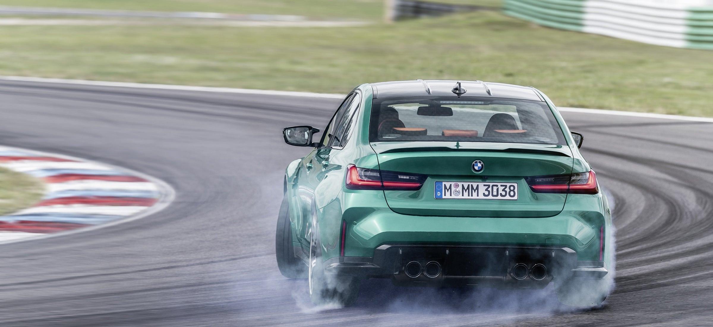 BMW M3 Competition Heckansicht
