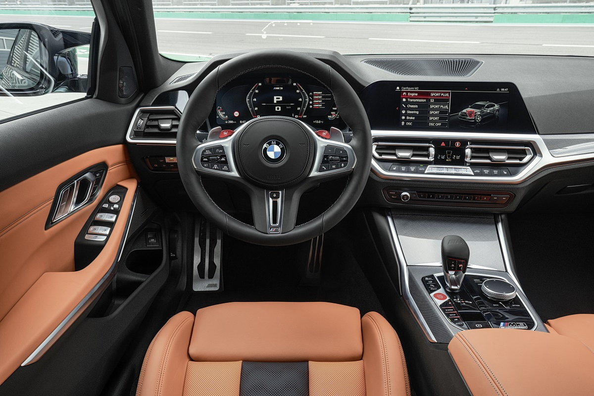 BMW M3 Competition Interieur