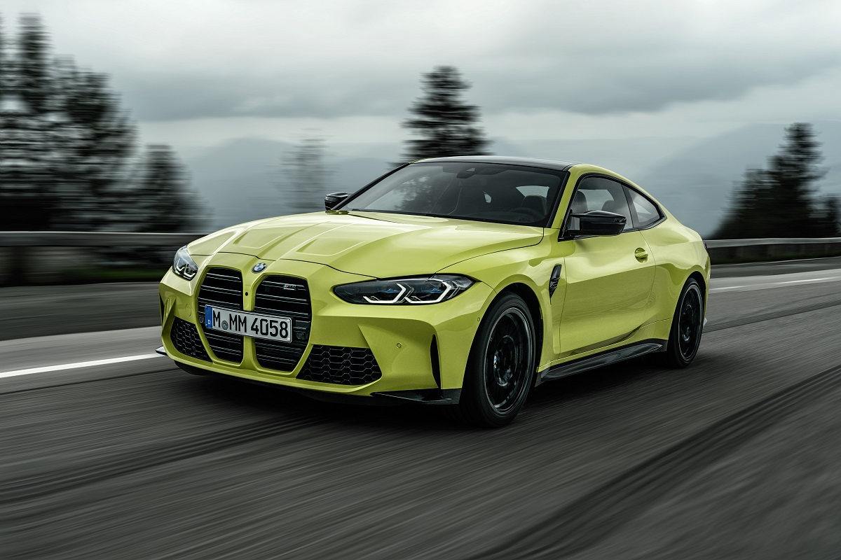 BMW M4 Competition Coupe Frontansicht