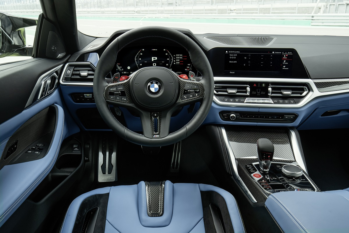 BMW M4 Competition Coupe Lenkrad