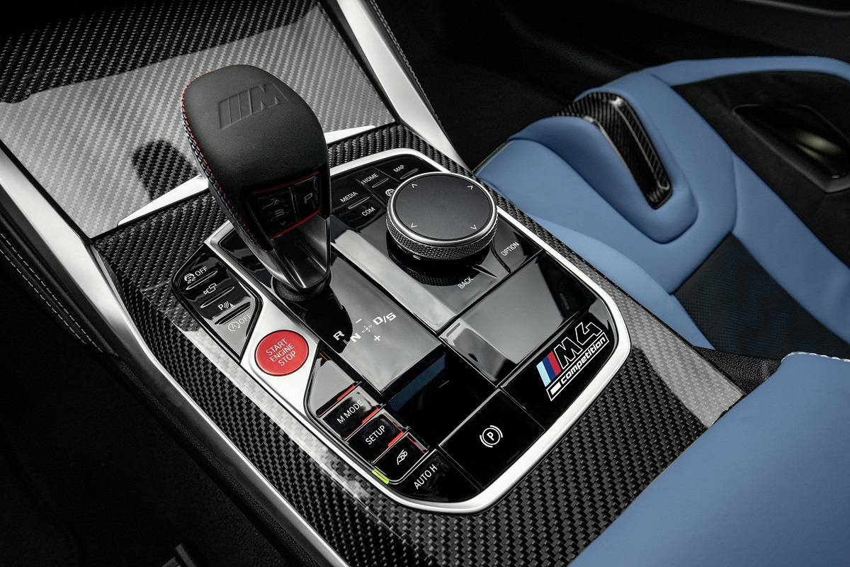 BMW M4 Competition Coupe M Steptronic Getriebe