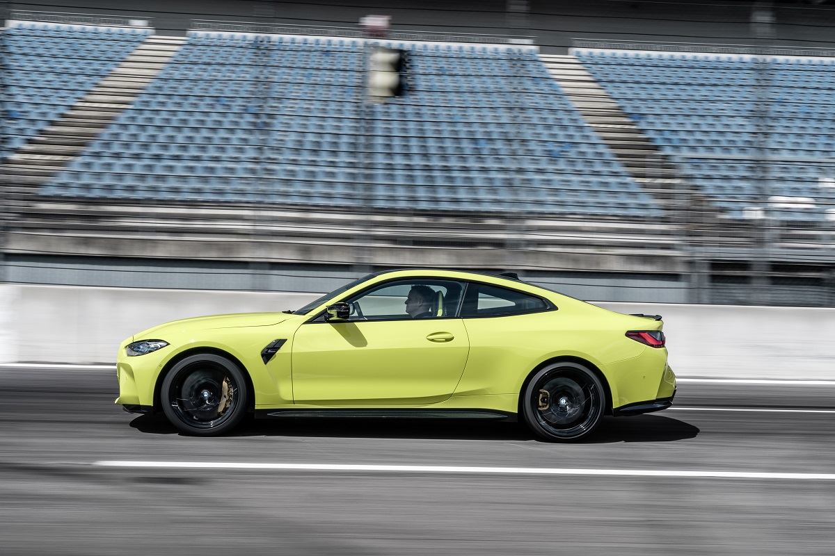 BMW M4 Competition Coupe Seitenansicht