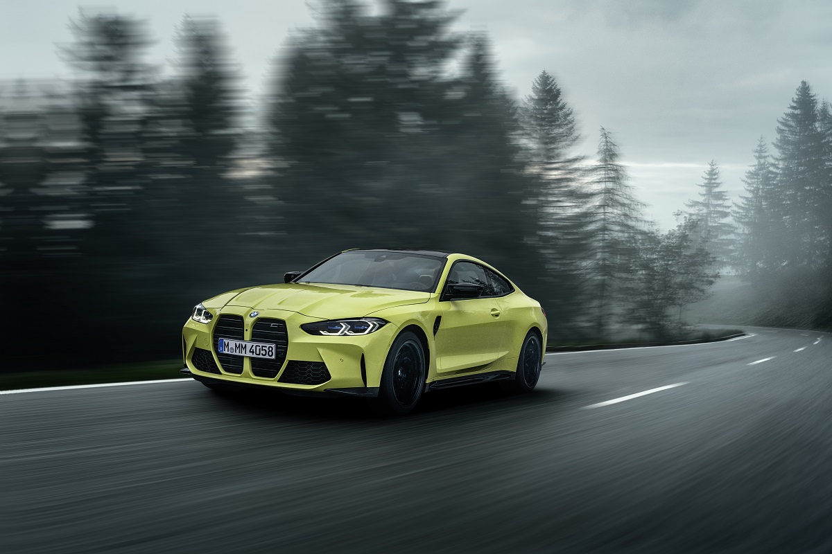 BMW M4 Competition Coupe neue front