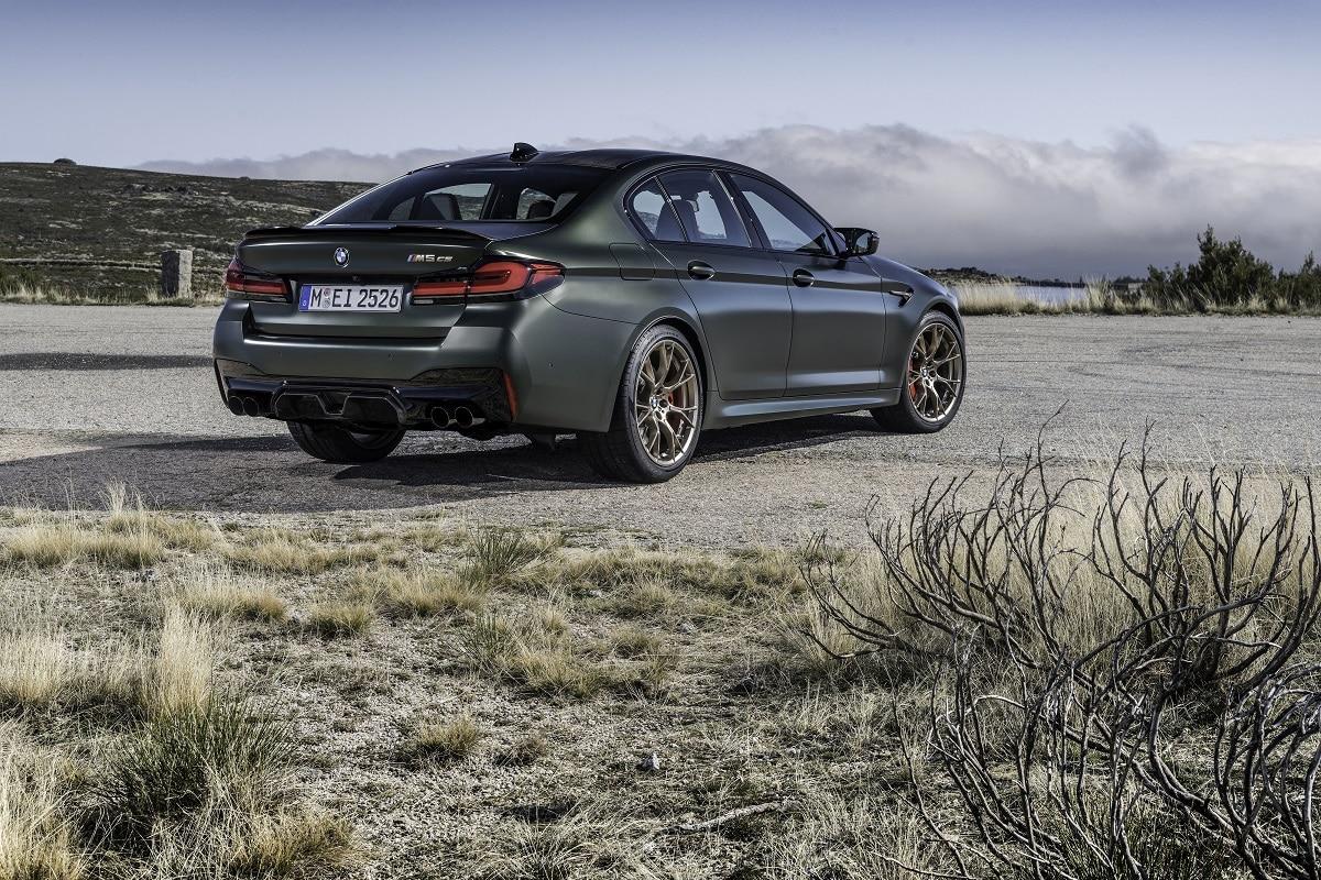 BMW M5 CS Heck