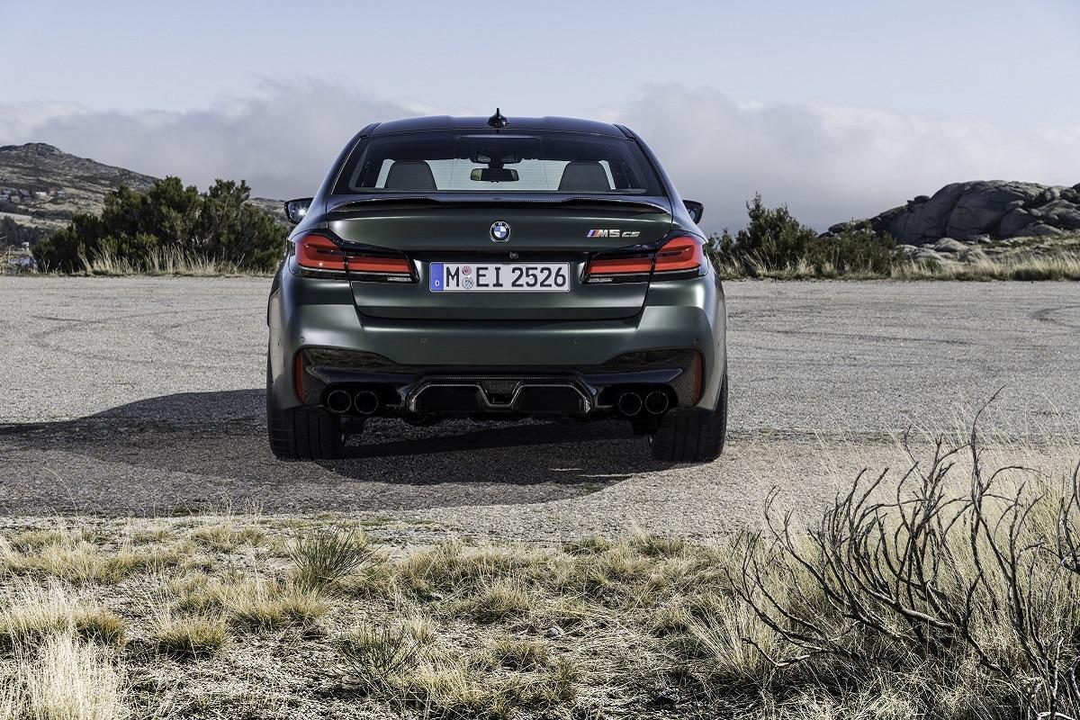 BMW M5 CS Heckansicht