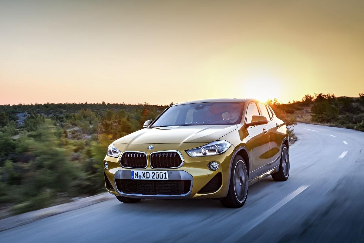 BMW X2 Kachel