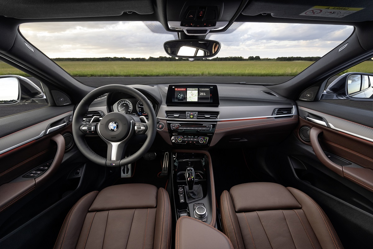 BMW X2 M Mesh Lenkrad