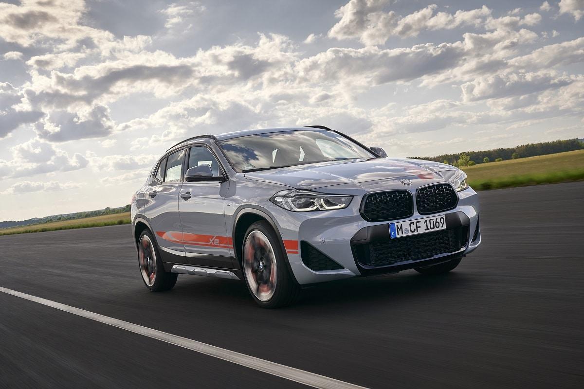 BMW X2 M Mesh Scheinwerfer