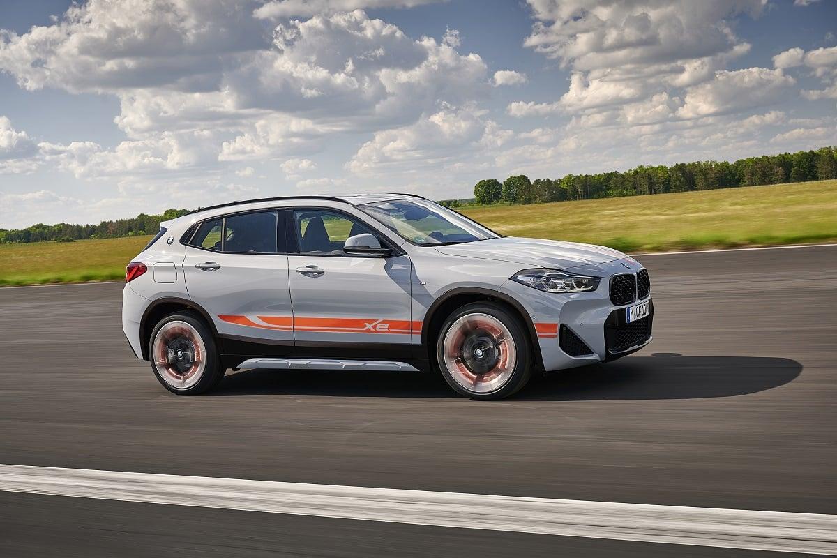 BMW X2 M Mesh Seite