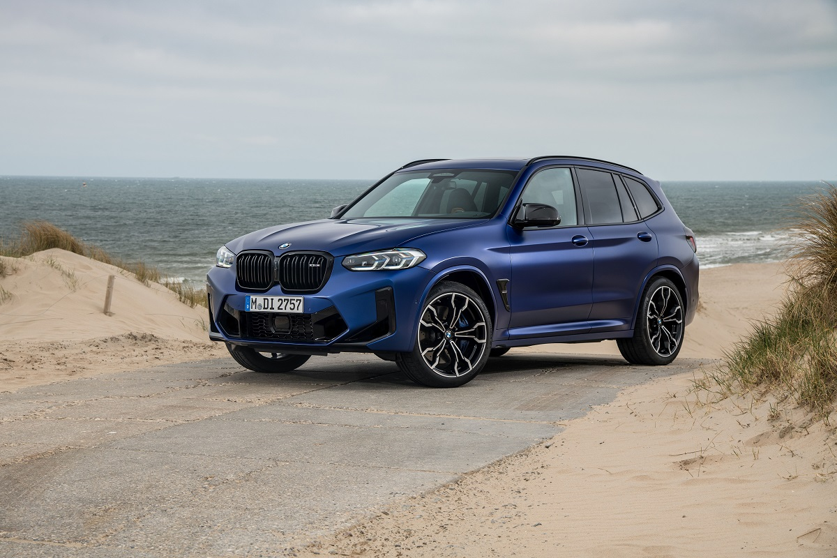 BMW X3M Competition Frontansicht
