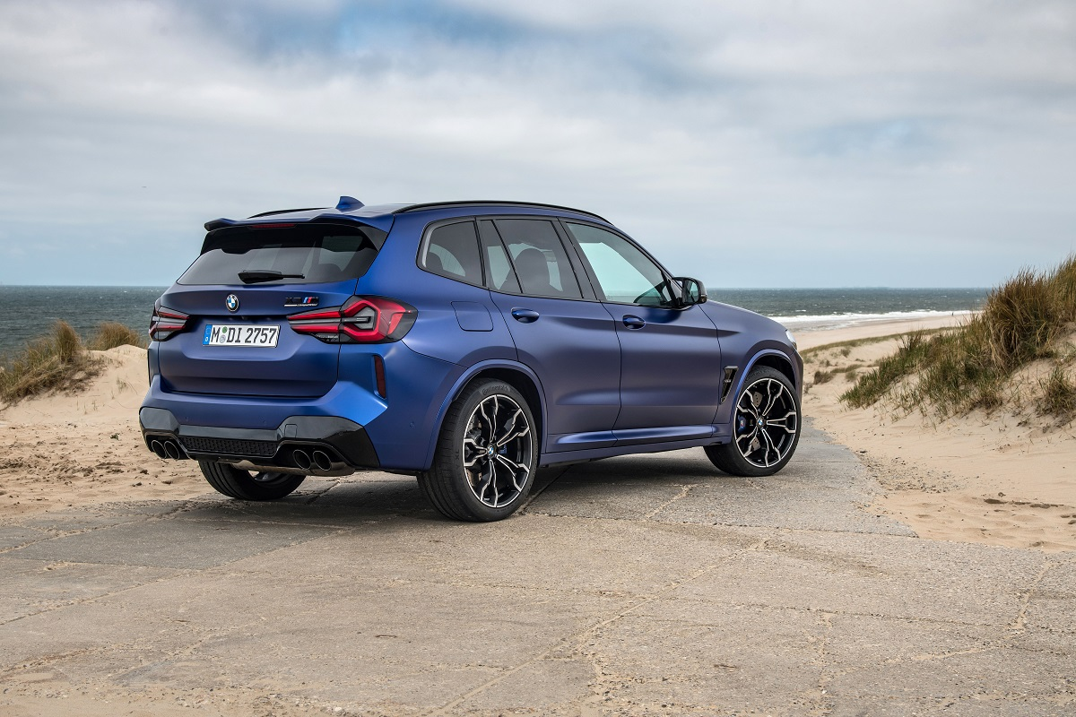 BMW X3M Competition Heck