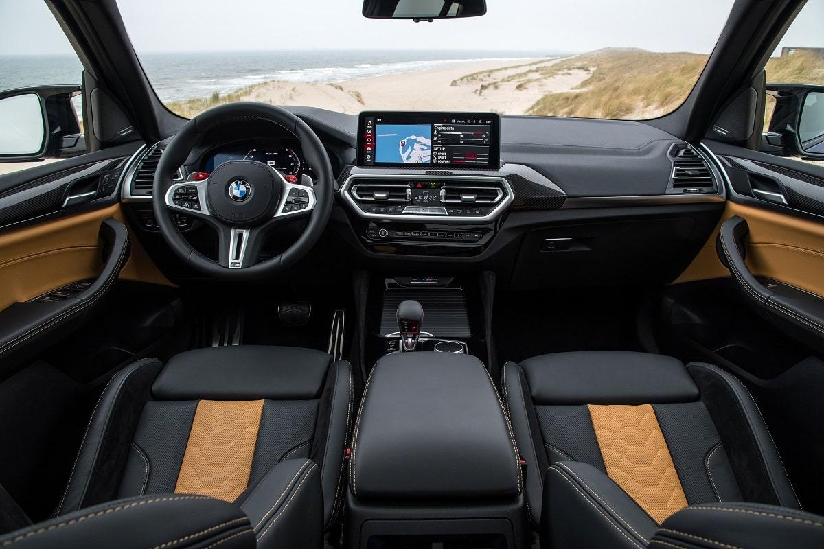 BMW X3M Competition Interieur