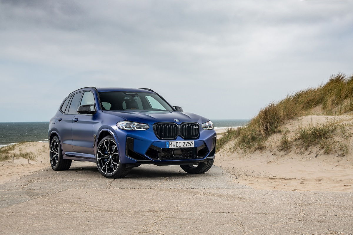 BMW X3M Competition Niere