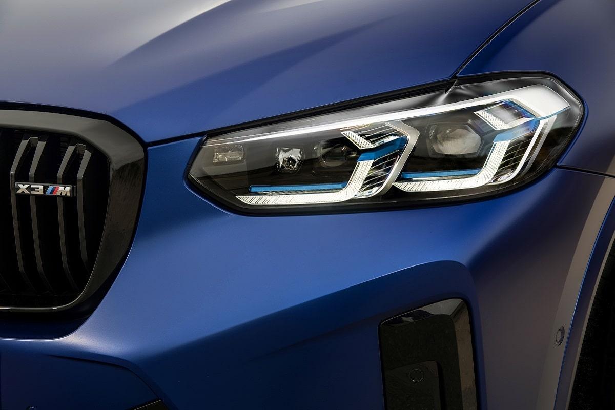 BMW X3M Competition Scheinwerfer