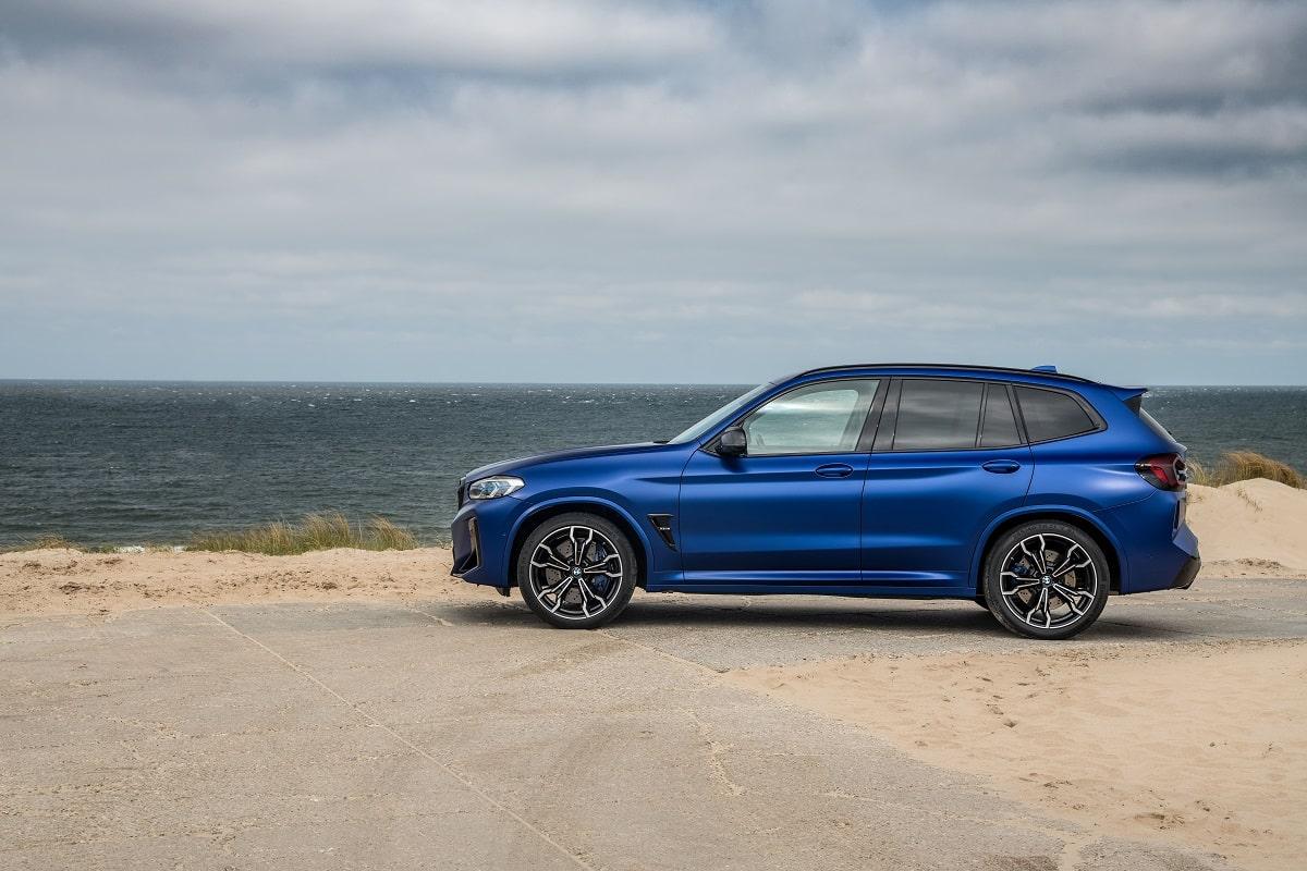 BMW X3M Competition Seite