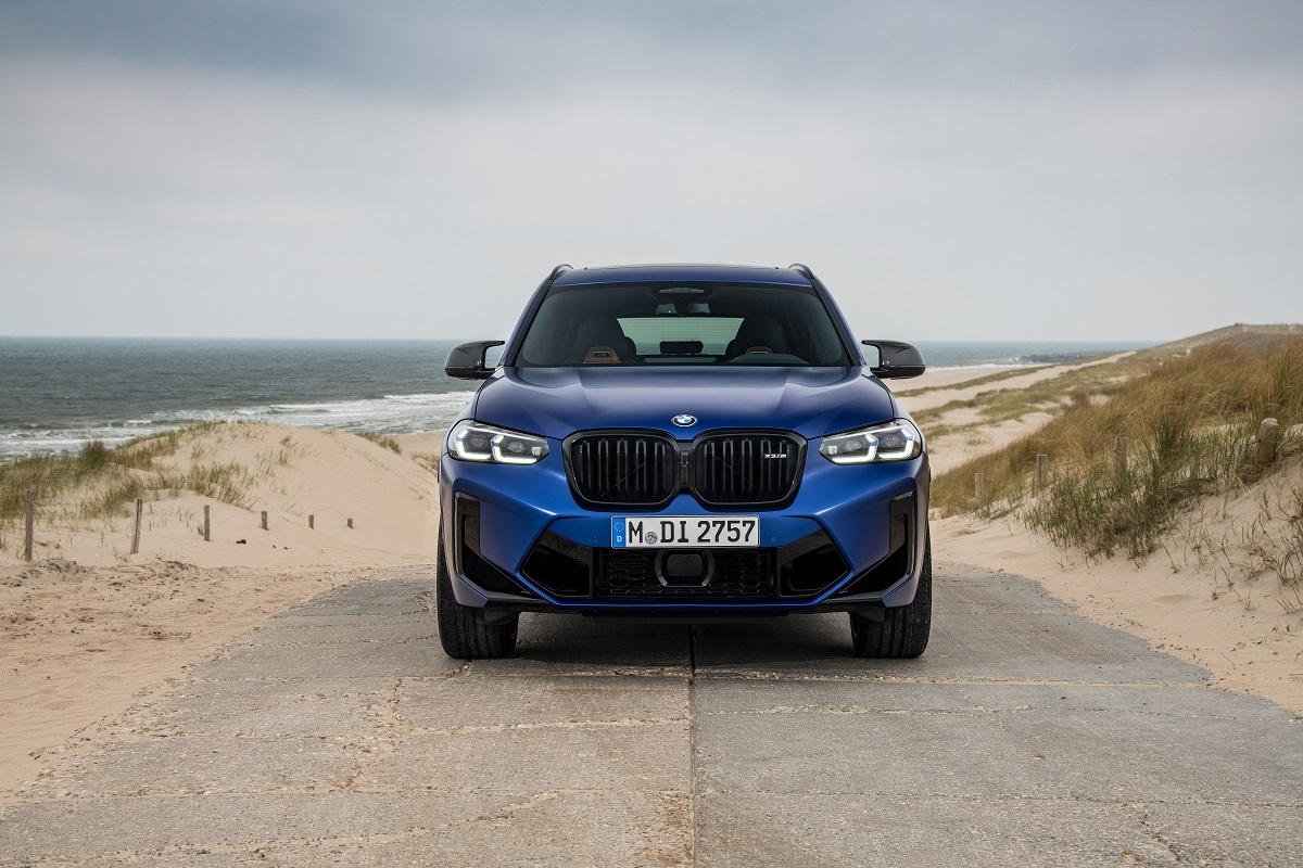 BMW X3M Competition Front