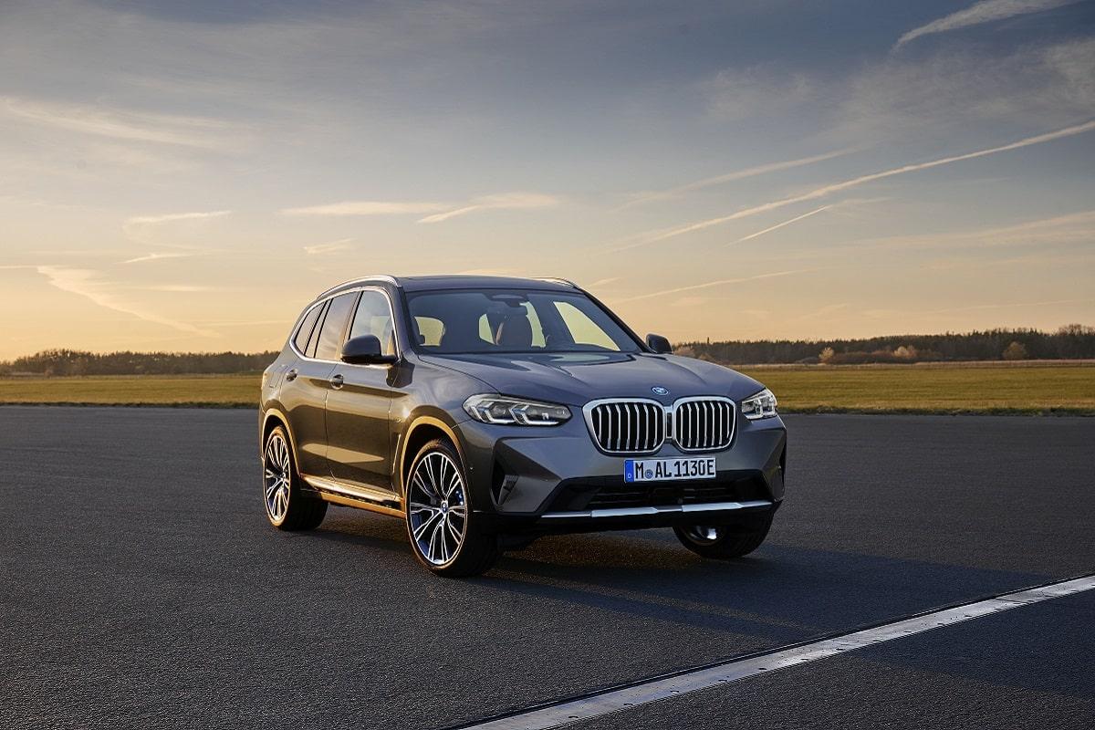 BMW X3 xDrive30e Frontansicht