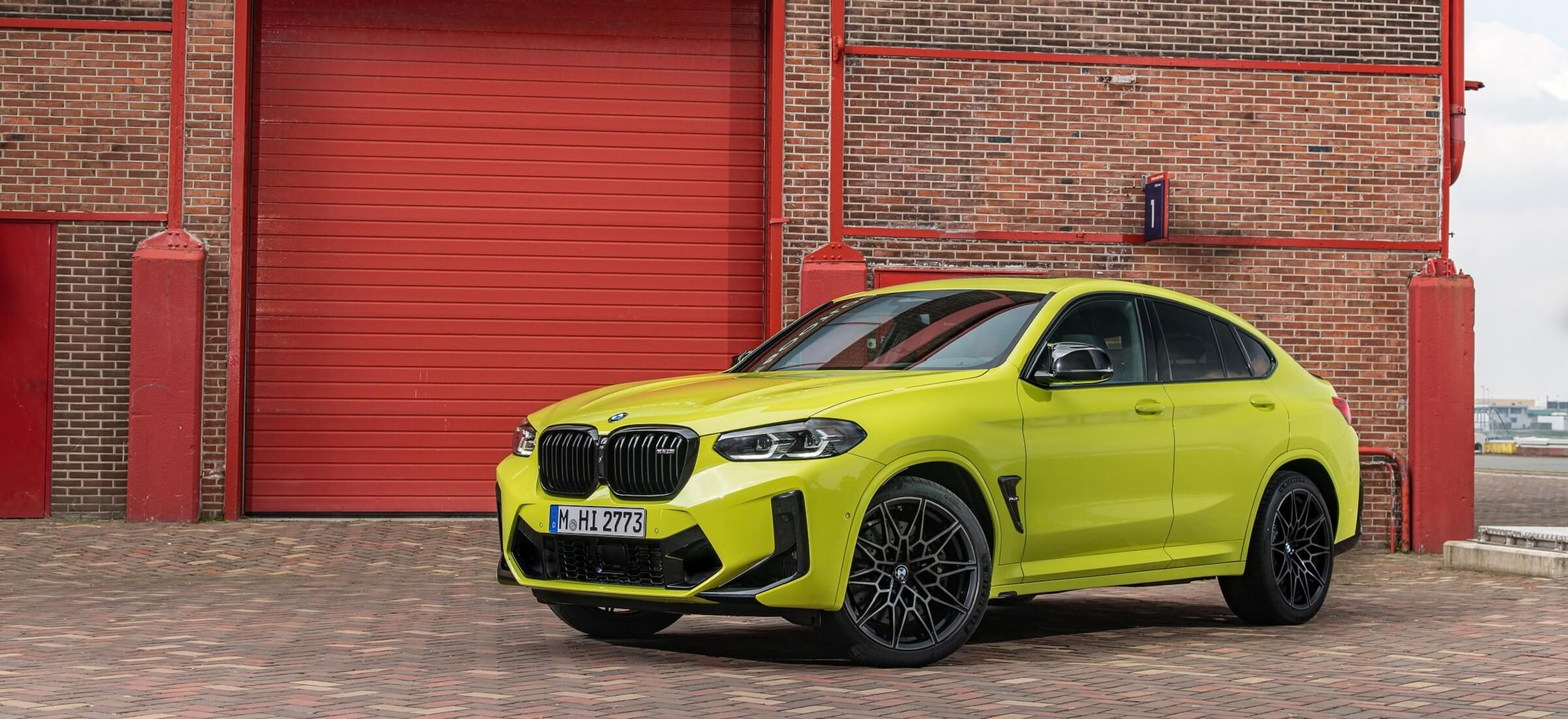 BMW X4M Competition Frontansicht Header