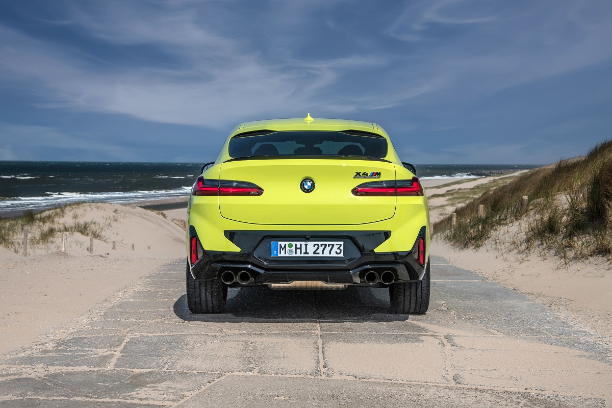 BMW X4M Competition Heck