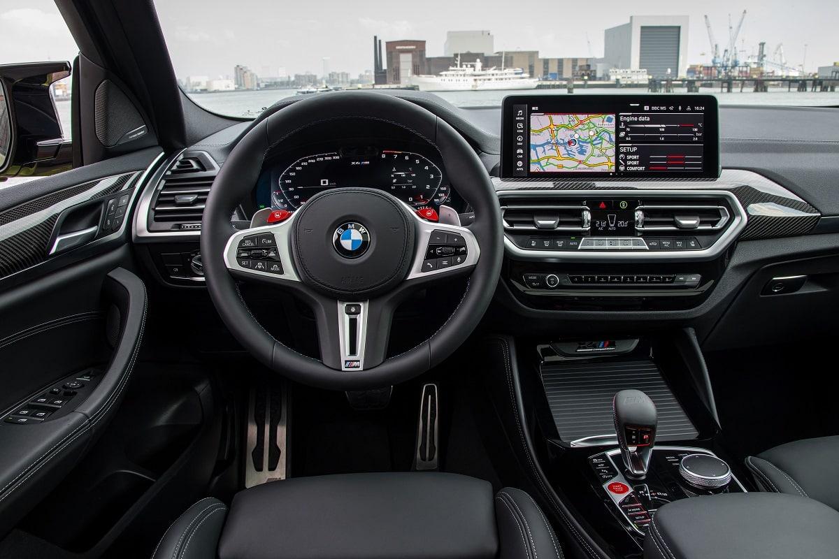 BMW X4M Competition Interieur