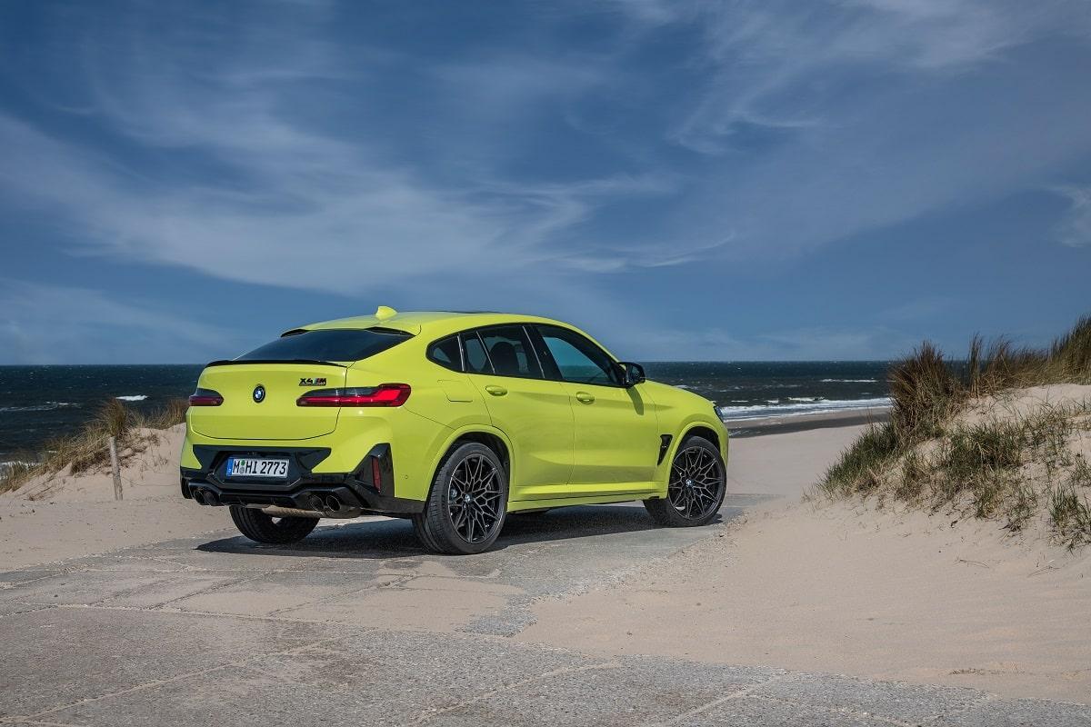 BMW X4M Competition Kennzeichen