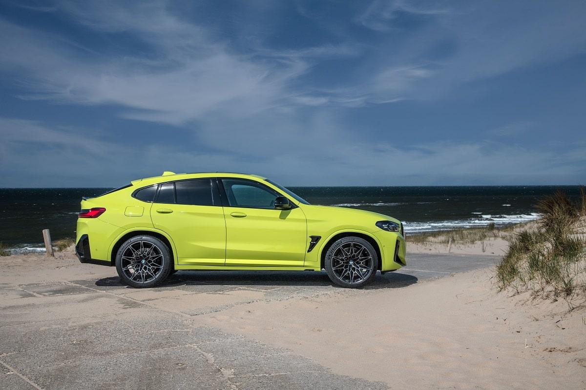 BMW X4M Competition Seite
