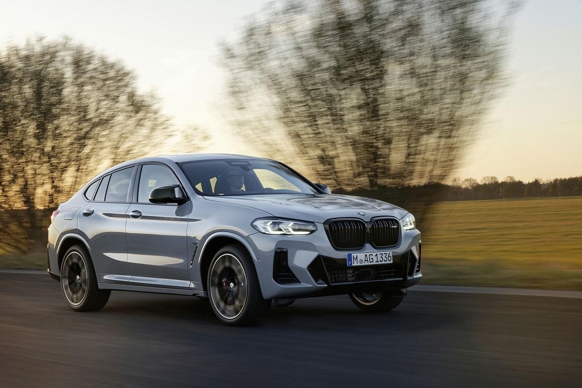 BMW X4M LCI Front