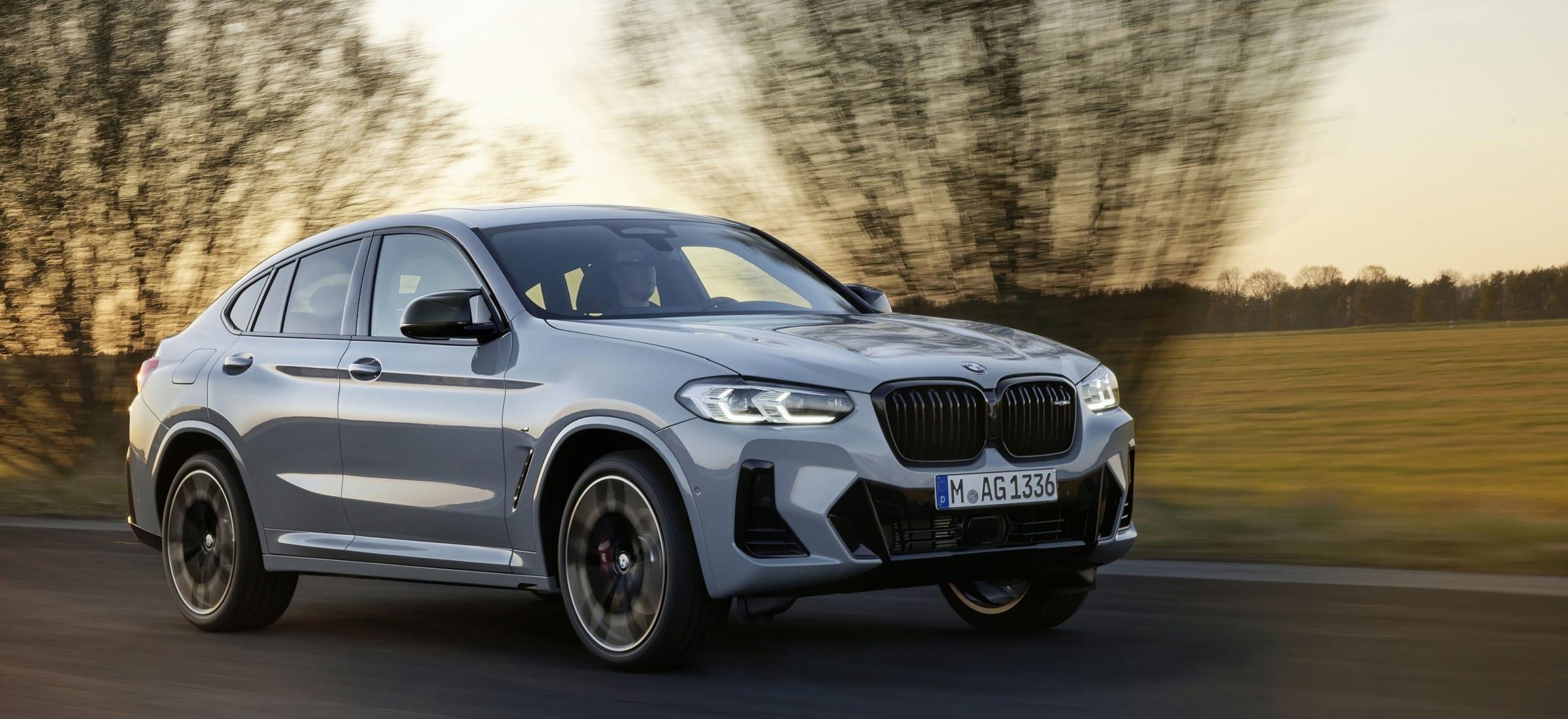BMW X4 LCI Footer