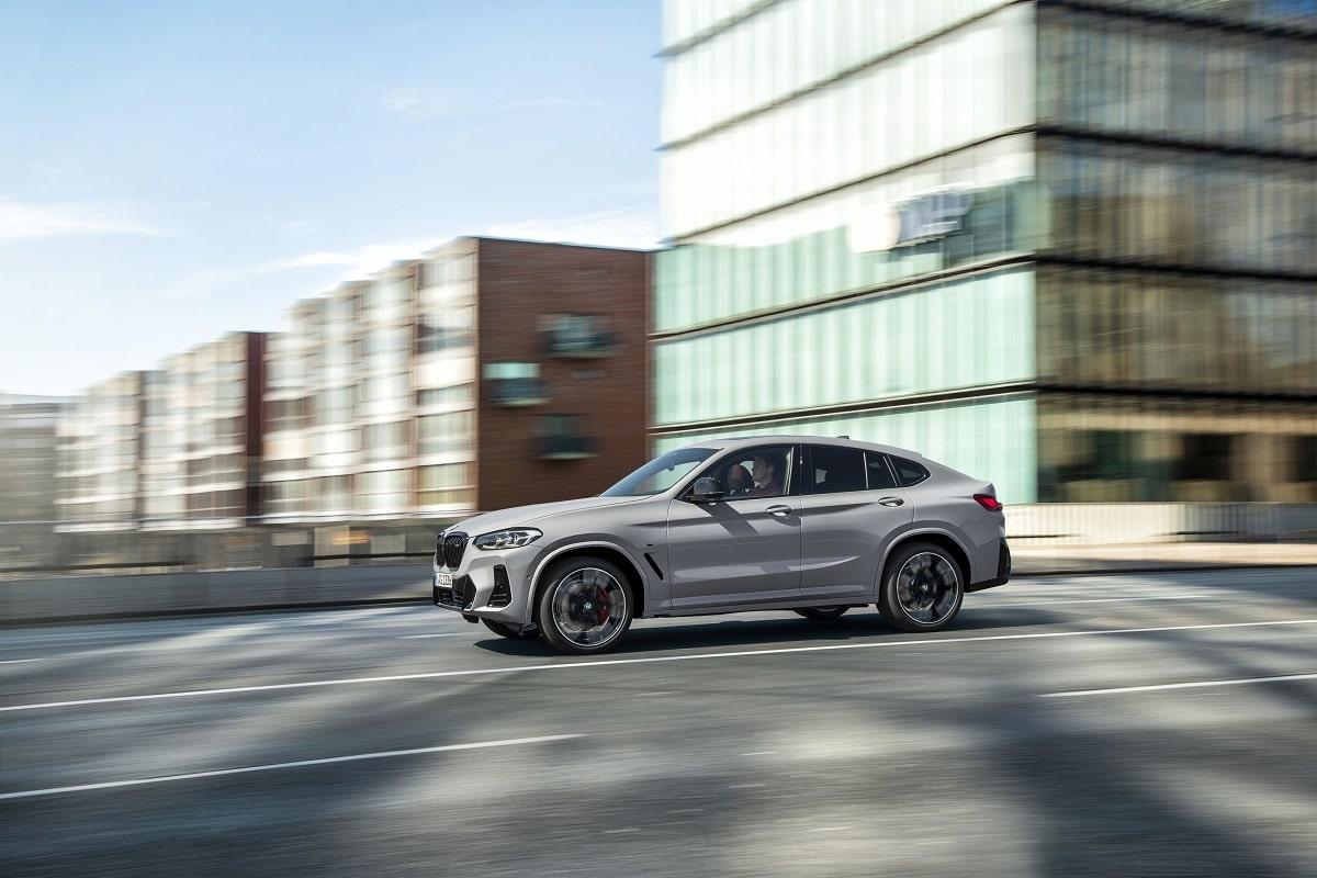 BMW X4 LCI Kachel
