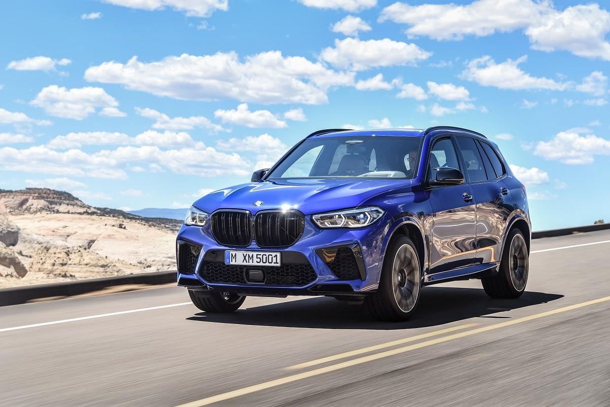 BMW X5 M Frontansicht