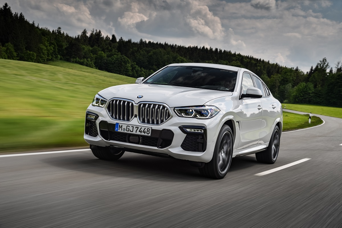 BMW X6 in weiß