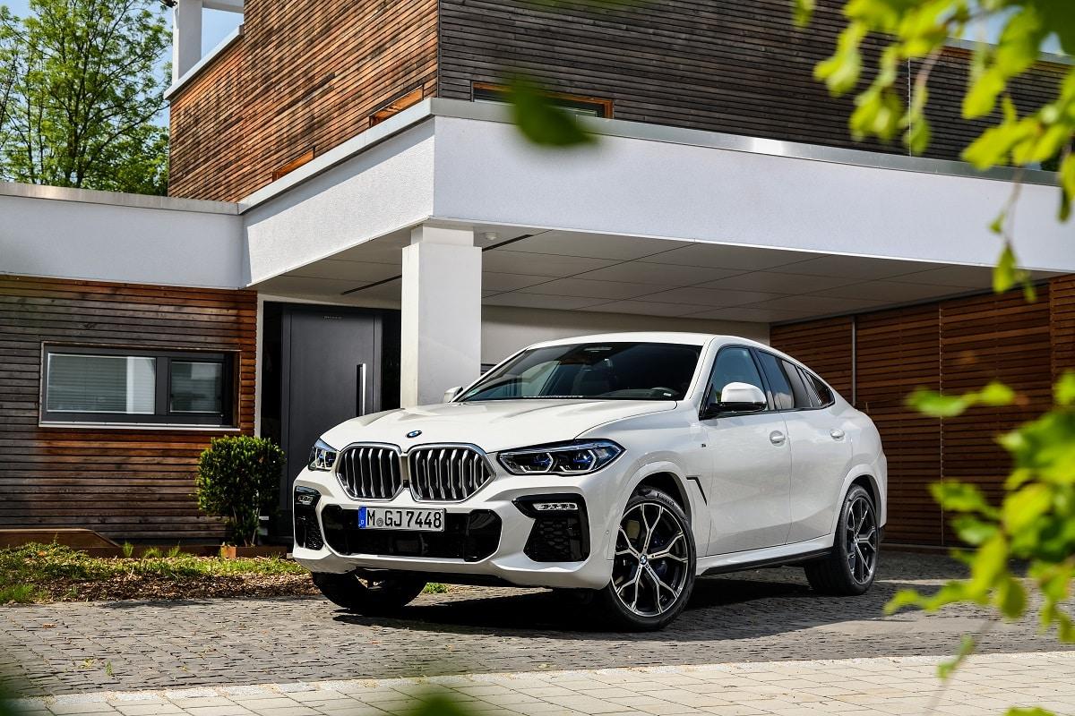BMW X6 LCI Frontansicht