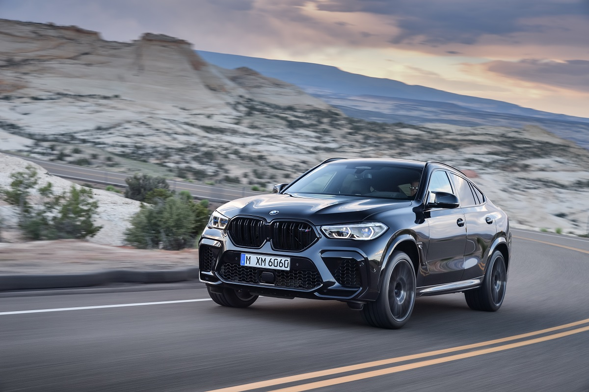 BMW X6 M Frontansicht
