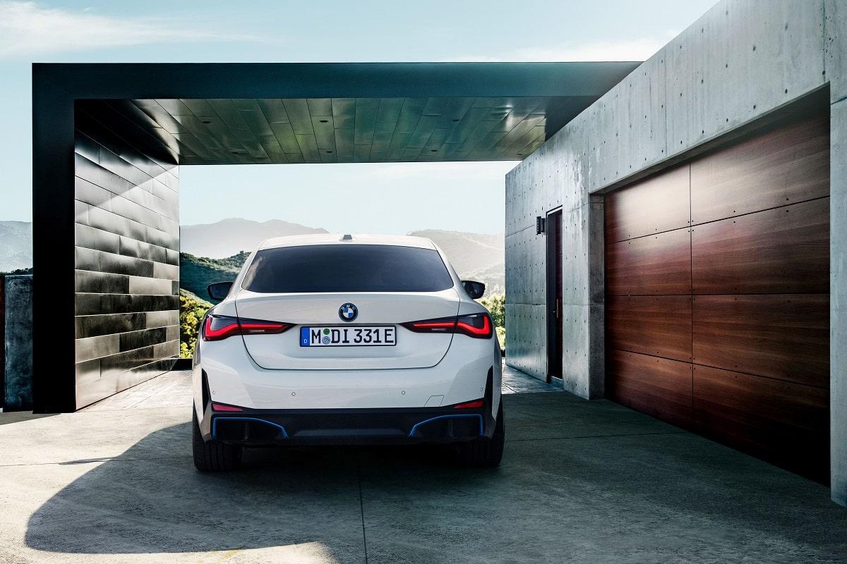 BMW i4 Heck