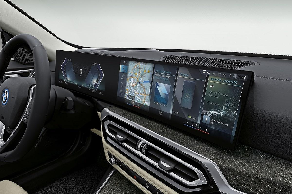 BMW i4 Lenkrad