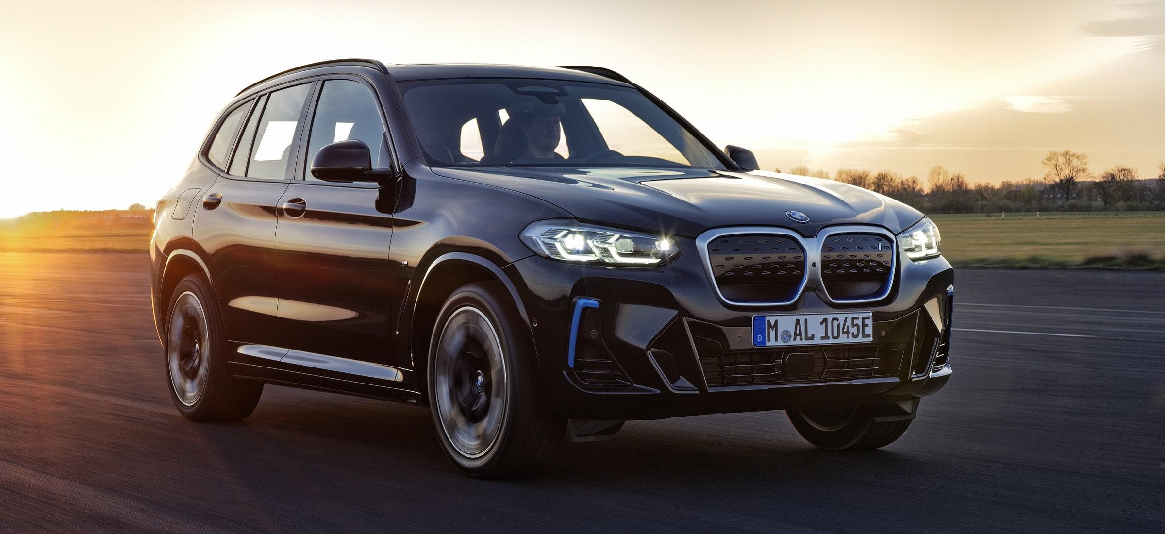 BMW iX3 LCI Header