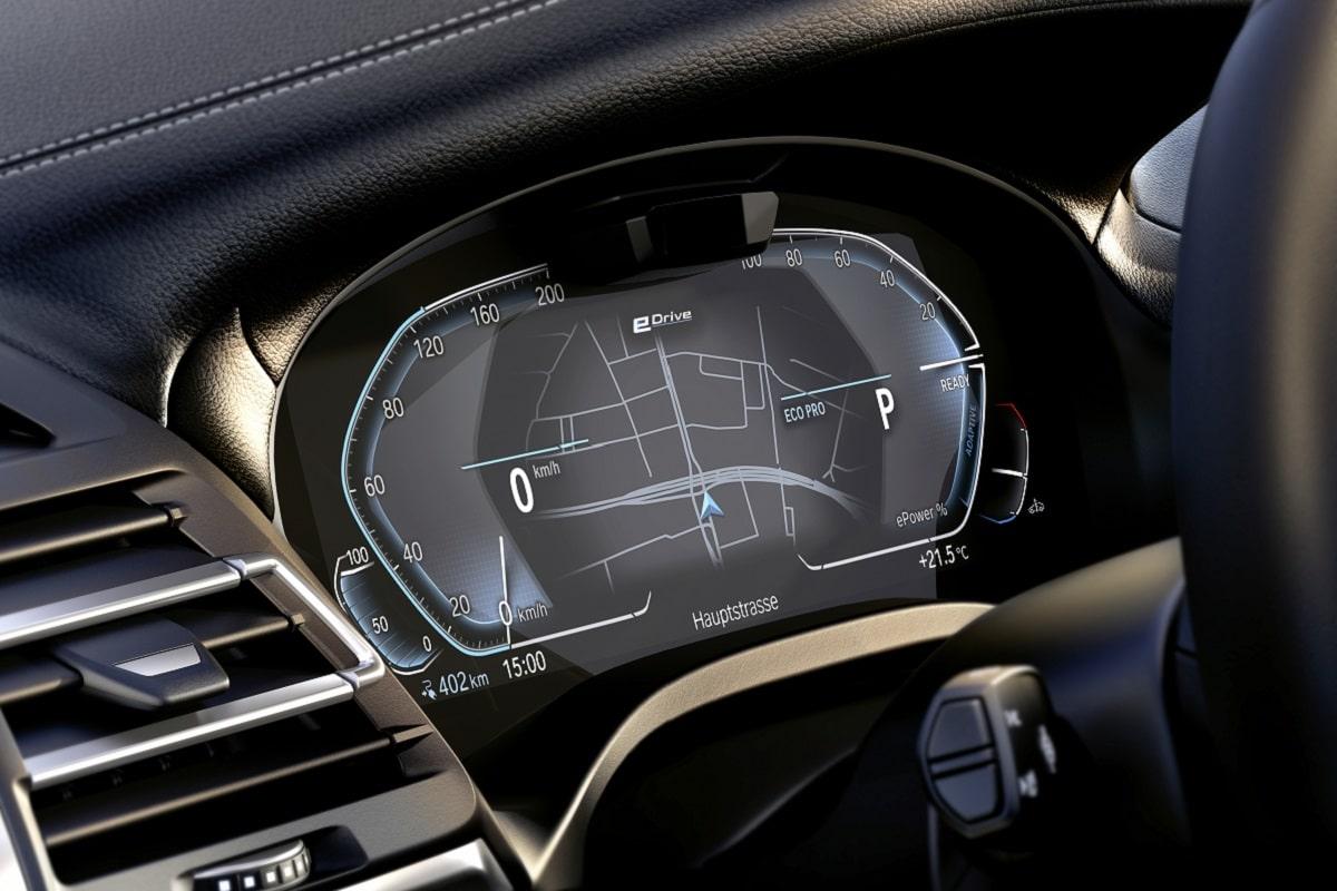 BMW iX3 LCI Navi