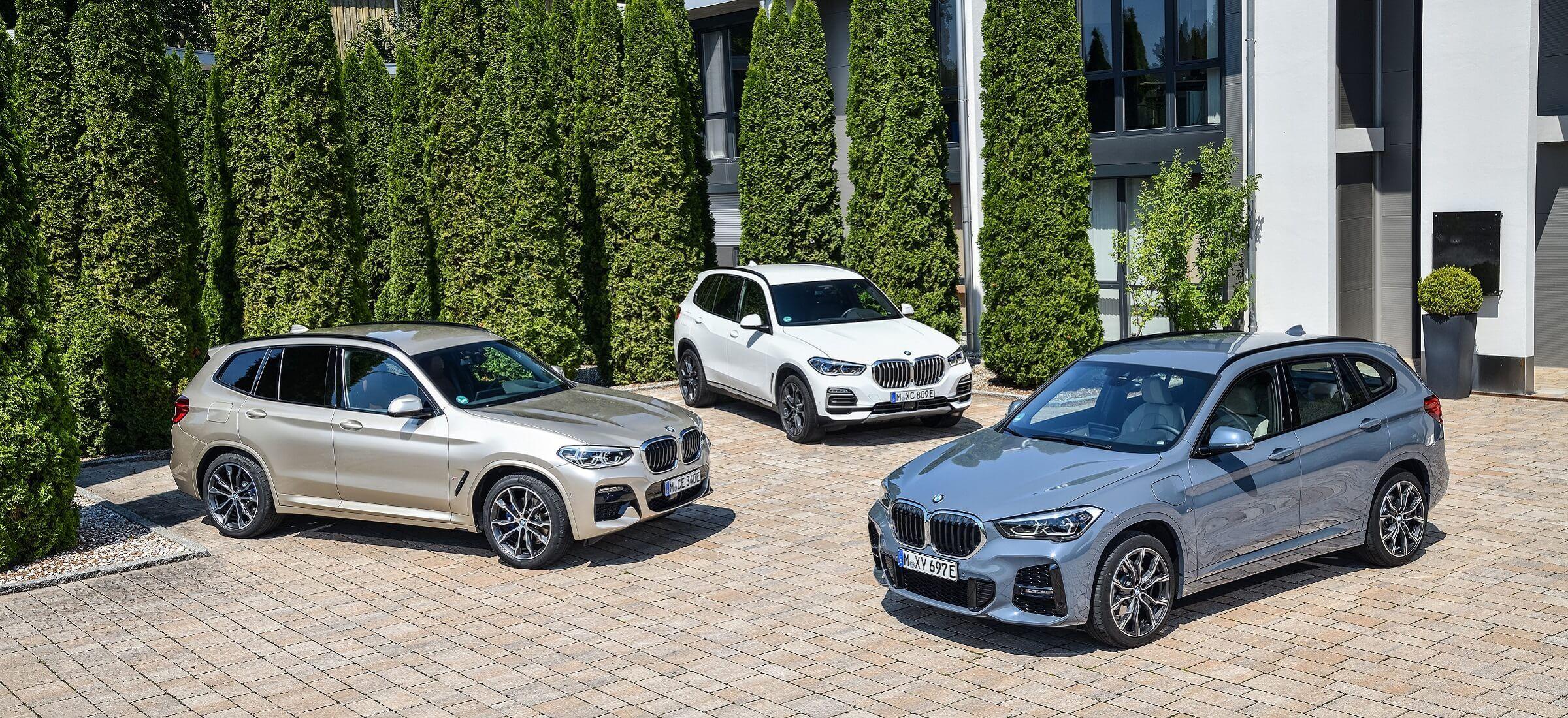 BMW kleine Flotte X Modelle