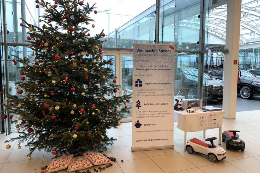 Spenden-Aktion Weihnachten für Kinderheime