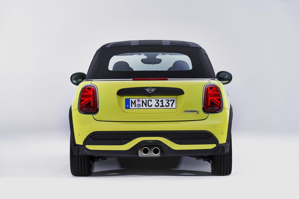 MINI Cabrio Heckansicht